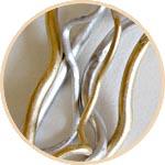 Золотые и серебряные стволы для топиариев купить