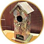 Чайный домик, декор в стиле этника, декопатч