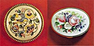 Декоративные накладки-медальоны для шкатулок купить
