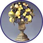 Топиарий с фруктами