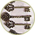 Подвески - старинные ключи