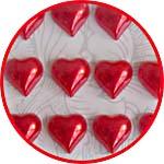 Перламутровые сердечки для декора купить