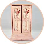 Кукольная мебель в стиле шебби шик