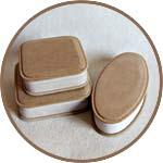 Шкатулки из папье-маше квадратные и лодочка