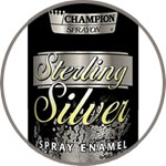 Аэрозольная краска CHAMPION, серебро Sterling