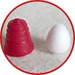 Пенопластовое яйцо микро