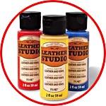 Краски по коже и винилу PLAID Leather Studio™