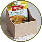 Подставка под пакетики со специями и салфетки