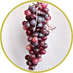 "Виноград ""Кардинал"", гроздь 20 см"