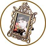 Рамка миниатюрная для фото и картин