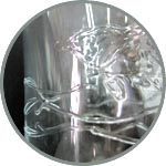 Контуры по стеклу, прозрачный декор