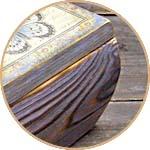 Шкатулка из сосны - браширование, морилка