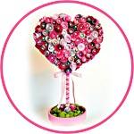 Топиарий-сердце