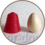 Деревянное яйцо мини