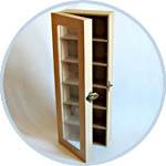 Шкафчик с прозрачной дверцей - заготовка для декора