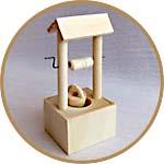 Мини-колодец для игры, макетов, кукольных садиков