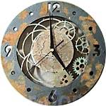 Мастер-класс по декору: настенные часы в стиле стимпанк