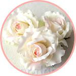 Розы искусственные из ткани купить