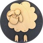 Овца деревянная - символ 2015 года