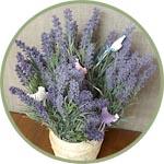Искусственные цветы для декора и топиариев купить