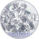 Ледяные кристаллы прозрачные для новогоднего украшения