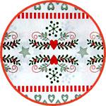 Бумага Декопатч новогодняя