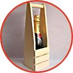Упаковка для шампанского и вина деревянная