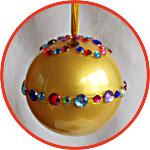 Прозрачные пластиковые шары, елочные украшения своими руками
