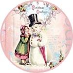 Рождественские картинки, декупажная бумага
