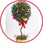 Рождественский топиарий - мастер-класс