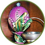 Мастер-класс - декор яйца под Фаберже