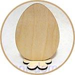 Яйцо из фанеры на подставке, для декора к Пасхе