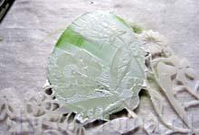 Пасха, мастер-класс, декор яиц, золочение фольгой по трафарету