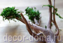 Декор чайного домика, пошаговый мастер-класс, дерево