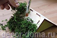 Декор чайного домика, пошаговый мастер-класс