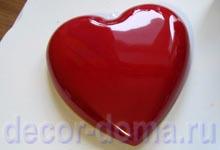 Окрашенное изнутри сердце