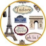3Д стикеры Париж
