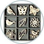 Декоративные элементы - чипборды для скрапбукинга и т.д.