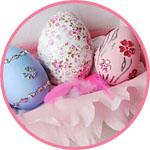 Пасхальные яйца декорирование