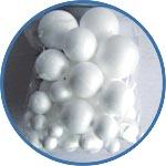 Набор шариков из пенопласта