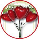 Сердечки на проволоке, для декора и флористики