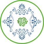 Трафареты Вива Декор роза и розетки