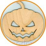 Тыква для хеллоуина