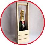 Упаковка подарочная деревянная для вина