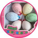 Пасхальный декор - яйца-раскраски